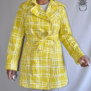 🎉Accepting 50% off🎉Merona Yellow Trench Coat